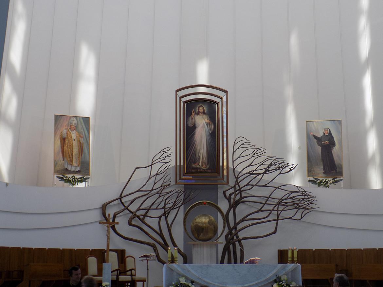 Pielgrzymka Diecezji Sosnowieckiej do Sanktuarium Bożego Miłosierdzia w Krakowie-Łagiewnikach (04.06.2016)