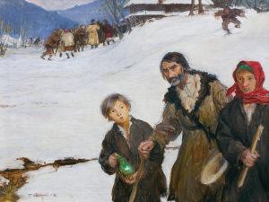 """Teodor Axentowicz - """"Na Gromniczną"""""""