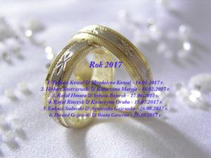 Sakrament Małżeństwa - 2017