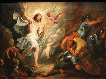 """Peter Paul Rubens """"Zmartwychwstanie Chrystusa"""" (G)"""